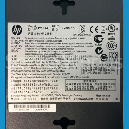 HP J9559A ProCurve 1410-8G Switch w// Power