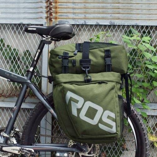 show original title Details about  /Bike bag Saddle Bag Luggage Bag Waterproof Luggage Carrier Pack Bag 35L