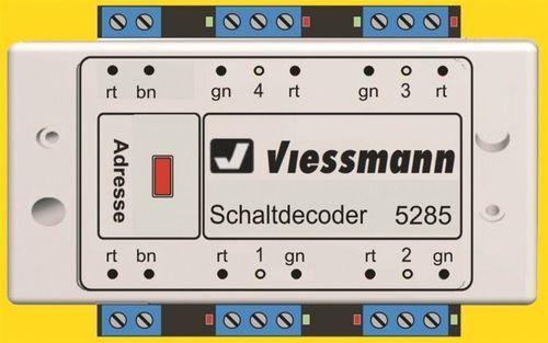 SH Viessuomon 5285 multiprossoocollo di commutazione decoder DCCU. marklinMOToroLAformato.