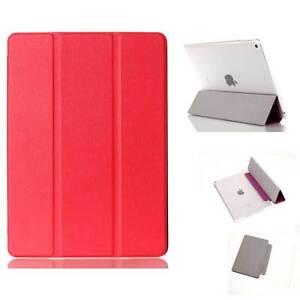 CUSTODIA-Integrale-SMART-COVER-SUPPORTO-per-Apple-iPad-AIR-2-9-7-Rossa