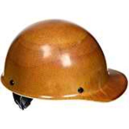 MSA 475395 Skullgard Protective Cap  W/ Fas-Trac III Suspension, Natural Tan, St