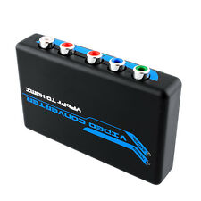 Component Video RGB YPbPr/VGA + L/R to HDMI Converter US Adapter for DVD PS3
