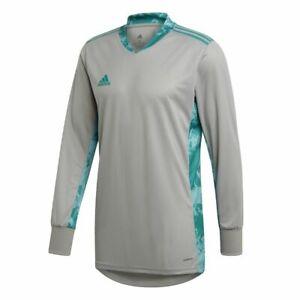 Details about Adidas Football Soccer Kids Goalkeeper GK Goalie Long Sleeve Jersey Shirt V Neck