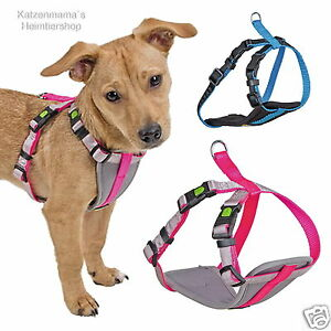 Gepolstertes-Welpengeschirr-Hundegeschirr-Hundewelpen-2-Farben-super-bequem-KE