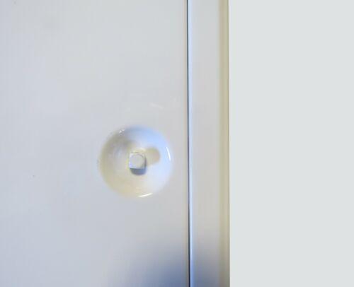 """Trappe de visite Softline 600x800mm blanc /""""The Whites Edition/"""" serrure batteuse"""