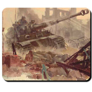 Tiger-Panzer-Hans-Liska-Militar-Wh-Mauspad-Wk-Mauspad-Mousepad-Computer-6370