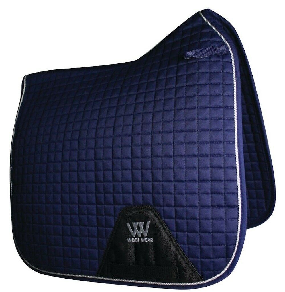 Woof Wear Saddle Dressage Saddle Wear Pad-Full-Navy dee08c