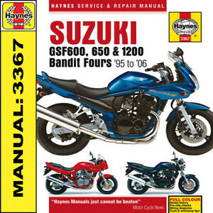 Suzuki-Bandit-GSF600-GSF1200-600-650-1200-1995-2006-Haynes-Manual-3367-NEW
