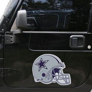 Dallas-Cowboys-12-034-Helmet-Car-Truck-Auto-Vinyl-Magnet