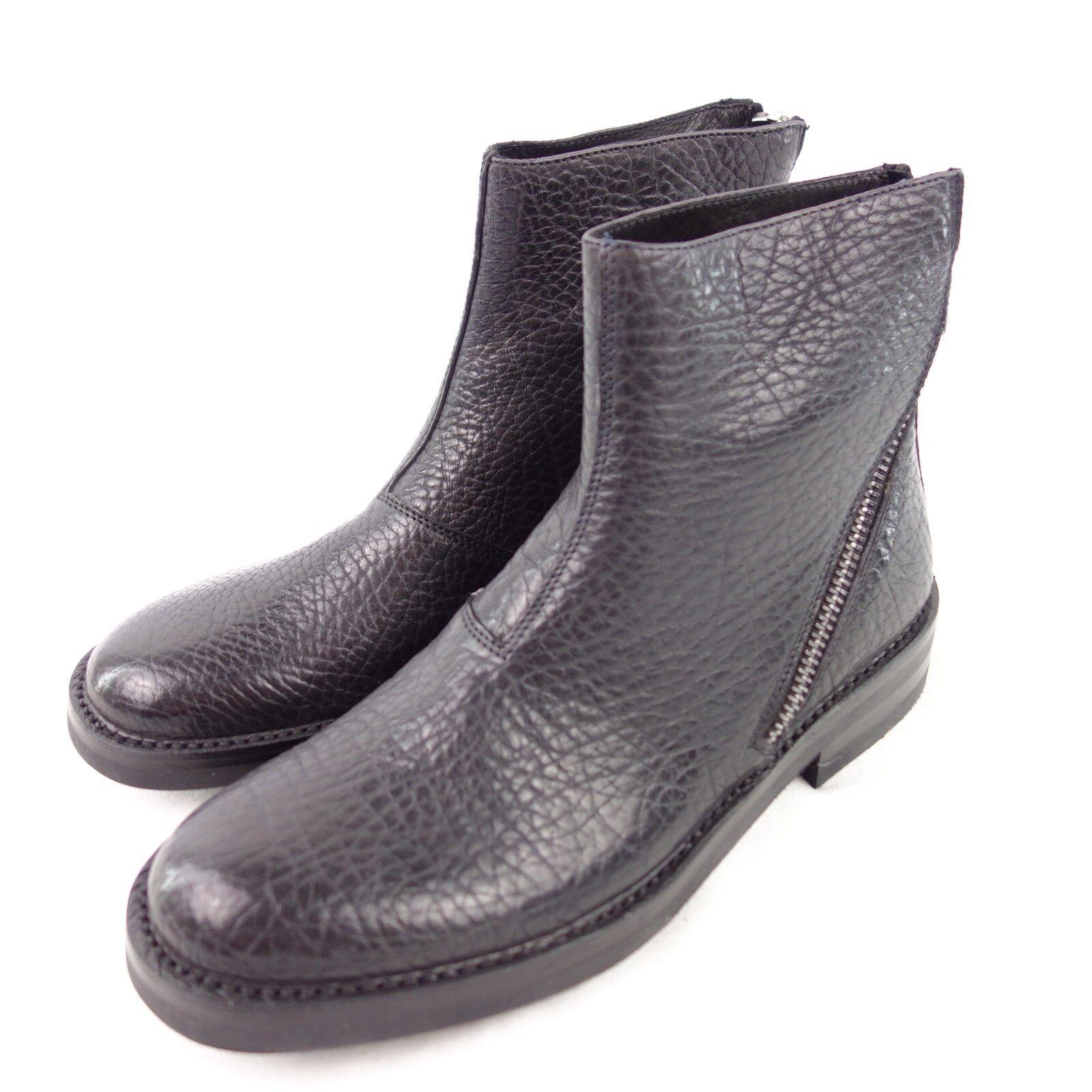 Koil Boots Stivaletti 43 S8302 Gr 41 42 43 Stivaletti 44 45 Nero Scarpe di pelle Np 379 Nuovo 2e7d0f