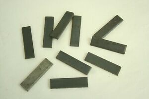 """Steel Wedge Pin Blanks 1 3//4/"""" Long .450 Wide .135 Thick  Lot of 10"""