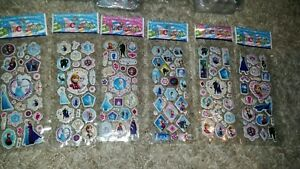 NEW 16 x Sheets Frozen Elsa Anna  Doc mcstuffing Stickers For Crafts DIY Fun - London, United Kingdom - NEW 16 x Sheets Frozen Elsa Anna  Doc mcstuffing Stickers For Crafts DIY Fun - London, United Kingdom