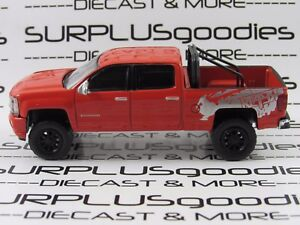 GREENLIGHT-1-64-LOOSE-Collectible-Lifted-2018-CHEVROLET-SILVERADO-1500-REAPER