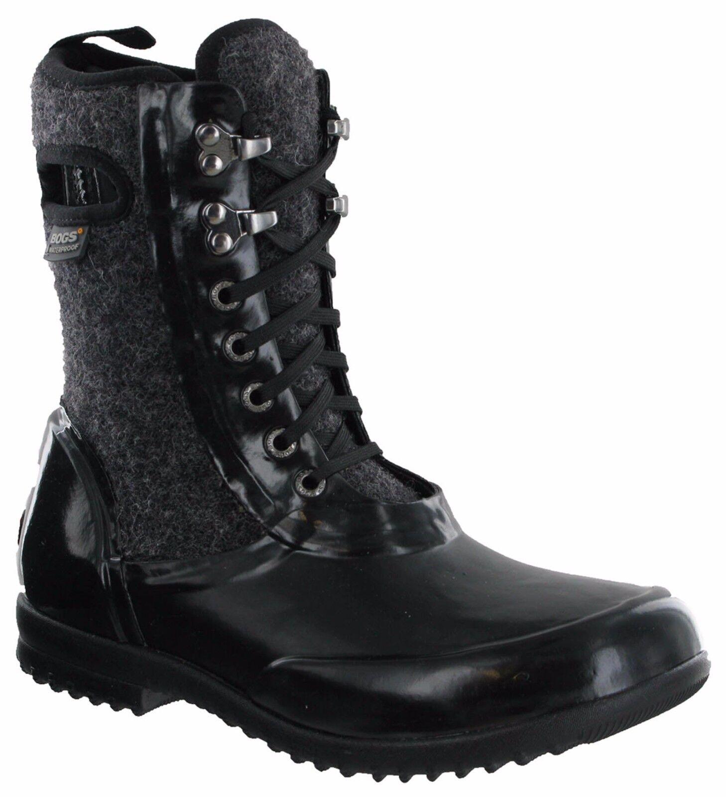 Bogs Sidney Wool Waterproof Neoprene  -15 Lace UK4-8 Up Womens Walking Boots UK4-8 Lace 724ff4