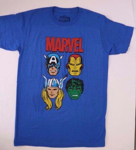 Original Marvel Comics Heroes Avengers Men/'s Blue T-shirt Tee Top NWT Size S XL