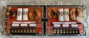 New-PAIR-Old-School-MB-Quart-QM200-72-Crossovers-rare-NOS-NIB-vintage