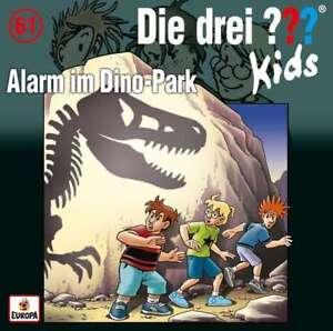 CD-DIE-DREI-FRAGEZEICHEN-KIDS-61-ALARM-IM-DINO-PARK-NEU-OVP