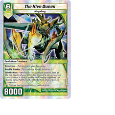 Kaijudo X1 THE HIVE QUEEN Super Rare S5/S10 7CLA Clash of the Duel Masters 2013