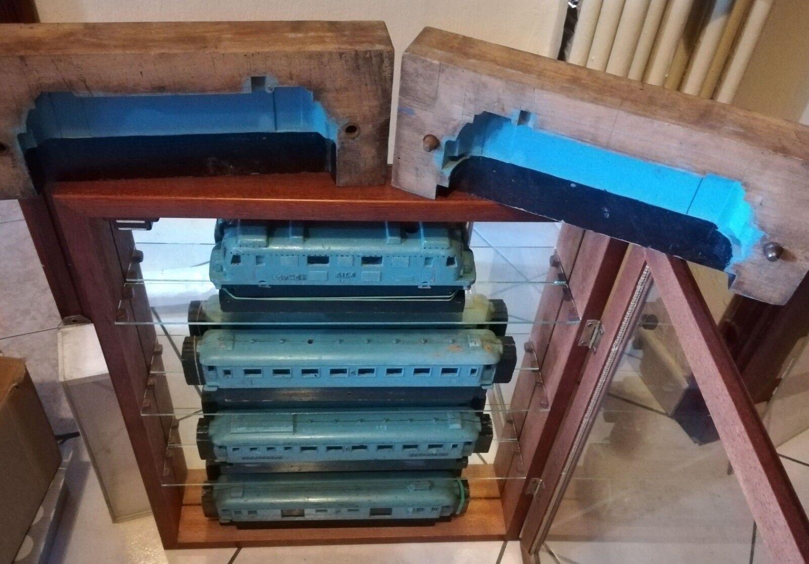 Ditta SILA Torino Prototipo e stampo in legno ESEMPLARE UNICO Treno scala 0 0e