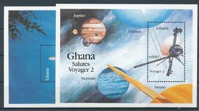 Ghana Block 160-161** Raumfahrt Duftendes Aroma In Brillant 268935
