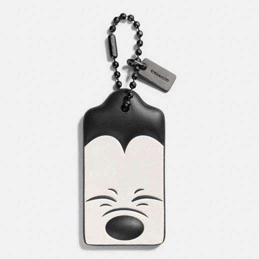 COACH Disney Mickey Hangtag Thumbs Up Handbag or Backpack Charm