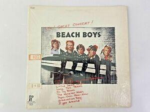 Beach Boys Wow Great Concert Vinyl LP Record Album Pickwick Capital