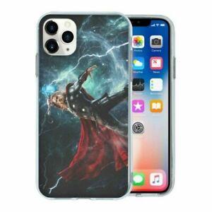 Marvel-Thor-TPU-Coque-pour-Telephone-Portable-T2584