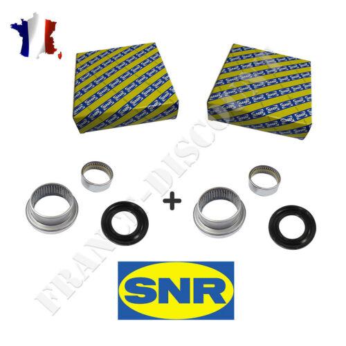 2 Kit de Reparation SNR roulement Axe Bras Train Arrière Peugeot 206 ks559.04
