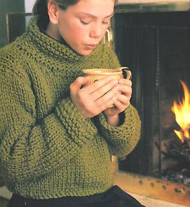 Easy Beginner Sweatersuper Bulky Wool Big Needles32 50