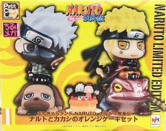 Naruto Limited Edition Kakashi Orange Cake: Petit Chara Limited Set (Megahouse)