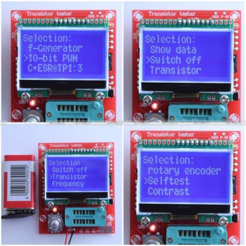 M328 GM328A M328LCD MK-328 MK-168 LCR-T4 LCR-T5 TS-M8N EZM328 Transistor Tester