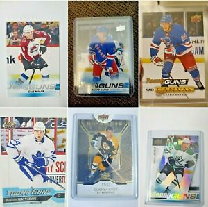 BIG-10-CARD-MYSTERY-PACK-Auston-Mathews-RC-Jack-Hughes-RC-Read-Description
