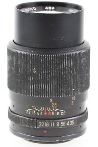 Porst-Tele-Auto-D-1-3-5-3-5-135mm-135-mm-M42-M-42-Anschluss