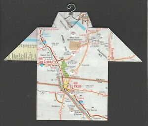 Details about Origami Map Shirt El Paso, Las Cruces, White Sands NM, on map of nolan county, map of young county, map of ft bliss, map of culiacan, map of cancún, map of wilkes-barre, map of houston, map of colonial heights, map of tampa st petersburg, map of santa teresa, map of rio rico, map of corbin, map of liberal, map of austin, map of ft stockton, map of indiana in, map of eastern id, map of beebe, map of hamtramck, map arizona,