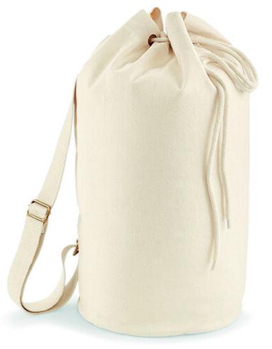EarthAware™ Organic Seesack runder Rucksack Beutel Tragetasche Wäschesack Zugbeu