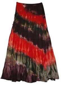Nolita Elastic Size Boho Waist Cotton s y N c Long Multicolor zZqYwrZU