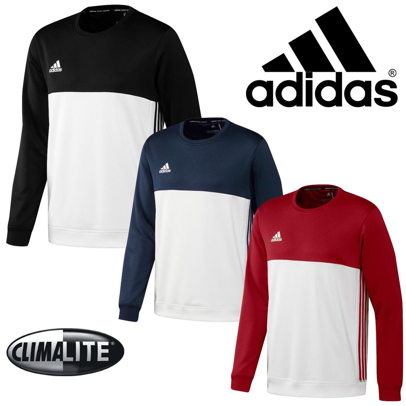 adidas T16 CLIMALITE Férfi pulóver sportcipő Nyakpánt Jumper Top