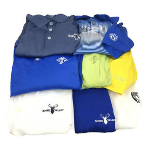 Nike-Golf-Polo-Huge-Lot-Of-8-Shirts-Mens-Size-XL-Extra-Large-Dri-Random-Logos