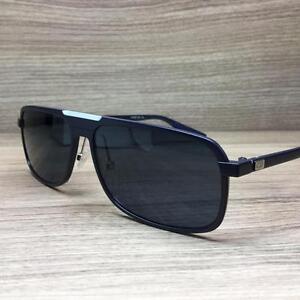 633d4673a54 Christian Dior Homme AL 13.7 Sunglasses Matte Blue LBY 72 Authentic ...