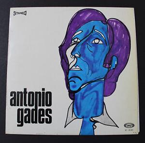 ANTONIO GADES LP Vinilo Movie Play 1966 España.