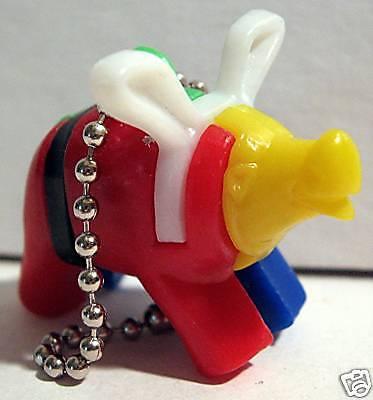 Vintage 1960 Gumball Machine Toy Pig Keychain Puzzle