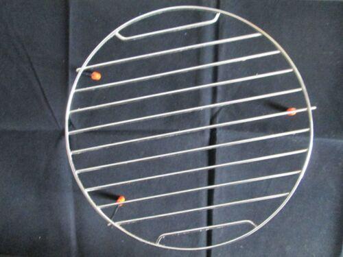 Durchmesser und Höhe 3 cm Grillrost Edelstahl für Mikrowelle mit 25 cm
