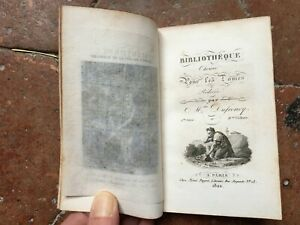 Mme Dufresnoy Biblioteca Elegida Para Las Mujer 11e Vol. Amado Payen 1822