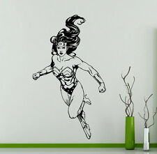 Wonder Woman Wall Decal Vinyl Sticker Comics Art Decoration Home Mural (161su)