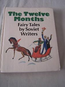 Book The Twelve months  Fairy tales by soviet writers Hardback - <span itemprop=availableAtOrFrom>Waltham Cross, United Kingdom</span> - Book The Twelve months  Fairy tales by soviet writers Hardback - Waltham Cross, United Kingdom