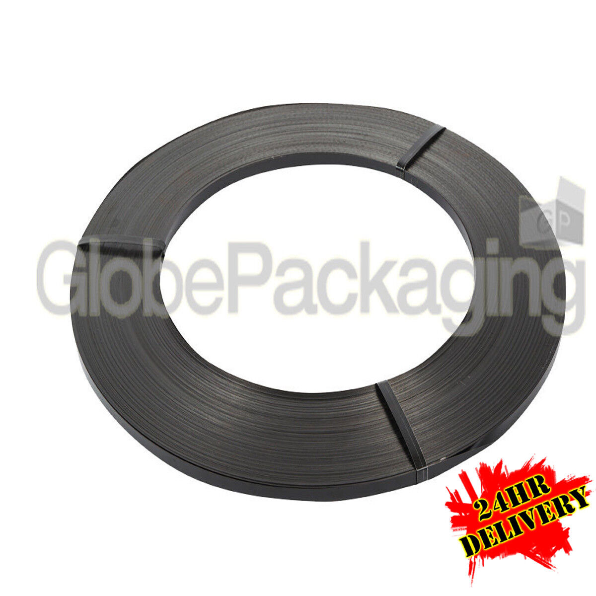 2 x 17KG COILS OF 13mm STEEL PALLET STRAPPING BANDING