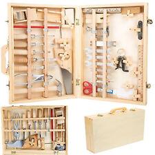 Kinderspielzeug Werkzeugkoffer Deluxe Werkzeugtasche Werkzeugkasten mit Werkzeug