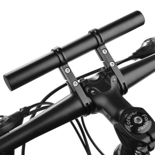 1X Manubrio Estensione supporto della bici della bicicletta Un manipolo Bar U6B6