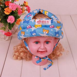Baby Toddler Foresterie Casque Sécurité Headguard Chapeau Bonnet Harnais Cadeau Réglable-afficher Le Titre D'origine TrèS Poli