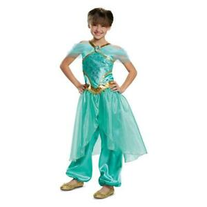 Details about Disney Princess Jasmine Dress Up Outfit Halloween Costume  Size Small (4,6x)
